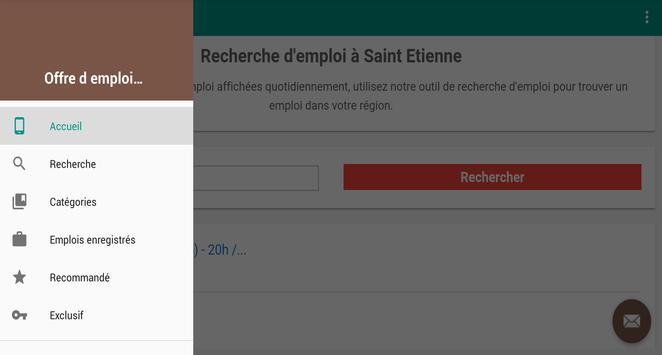 Offre d emploi Saint-Étienne screenshot 5