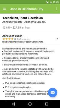 Jobs in Oklahoma City, OK, USA apk screenshot