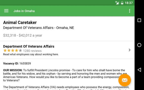 Jobs in Omaha, NE, USA apk screenshot