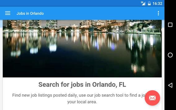 Jobs in Orlando, FL, USA apk screenshot