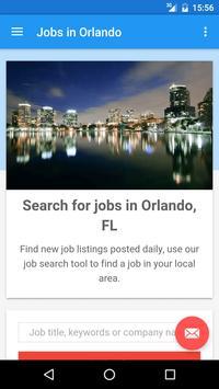 Jobs in Orlando, FL, USA poster