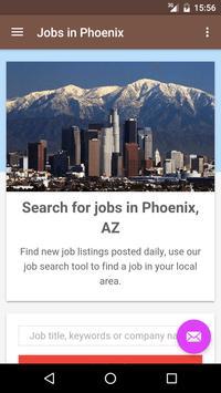 Jobs in Phoenix, AZ, USA poster
