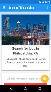Jobs in Philadelphia, PA, USA poster