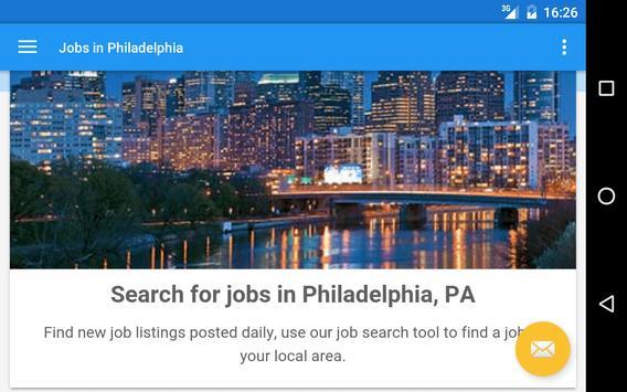 Jobs in Philadelphia, PA, USA apk screenshot