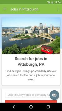 Jobs in Pittsburgh, PA, USA poster