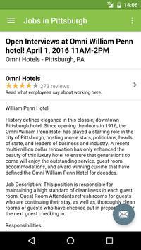Jobs in Pittsburgh, PA, USA apk screenshot