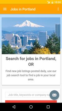 Jobs in Portland, Oregon, USA poster