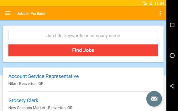 Jobs in Portland, Oregon, USA apk screenshot
