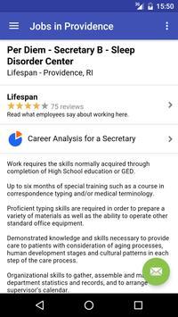 Jobs in Providence, RI, USA apk screenshot