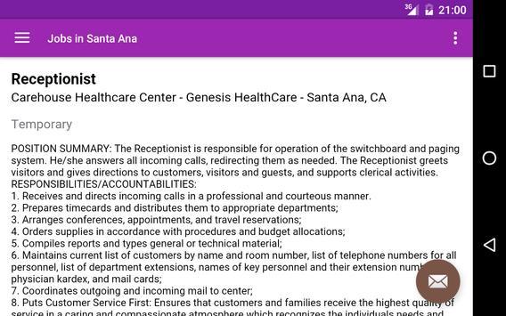 Jobs in Santa Ana, CA, USA screenshot 7