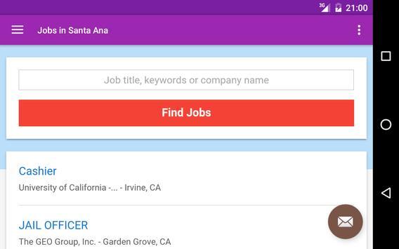 Jobs in Santa Ana, CA, USA screenshot 6