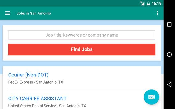 Jobs in San Antonio, TX, USA apk screenshot