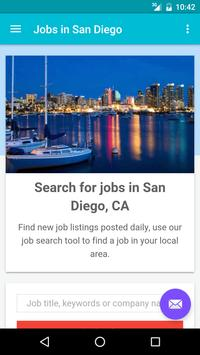 Jobs in San Diego, CA, USA poster