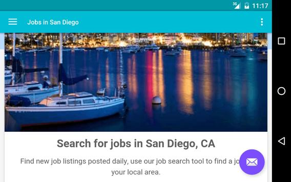Jobs in San Diego, CA, USA apk screenshot