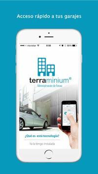 Terraminium Mando Garaje Móvil poster