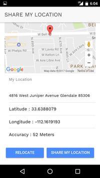 Share My Location screenshot 1