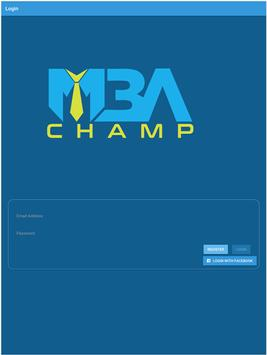 MBAChamp screenshot 1