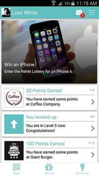 ReMe – Universal Loyalty App poster