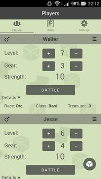 Level Counter for Munchkin screenshot 2