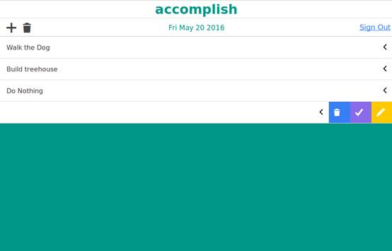 accomplish screenshot 1