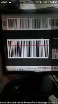 Barcode and QR Code Reader poster