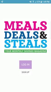 Meals Deals & Steals poster