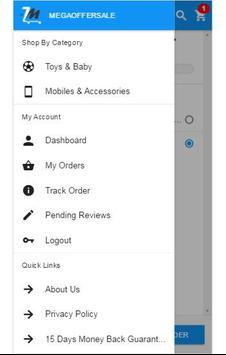 MegaOfferSale Shopping apk screenshot