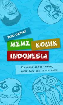 Meme Komik Indonesia poster