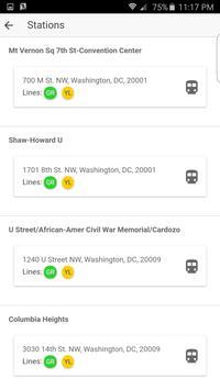 DC Metro screenshot 2
