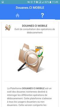 Douanes.CI Mobile apk screenshot