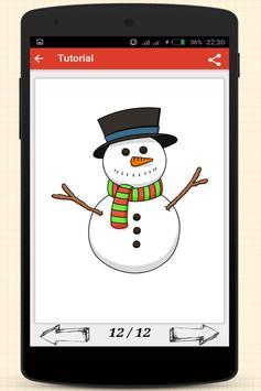 How to Draw Christmas Stuff screenshot 17