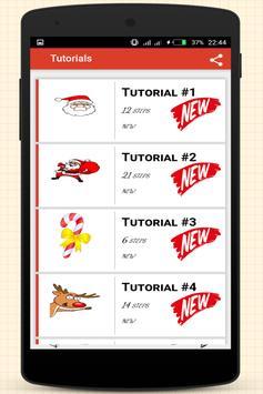 How to Draw Christmas Stuff screenshot 12