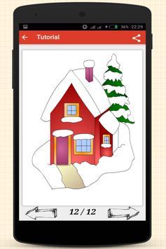 How to Draw Christmas Stuff screenshot 9