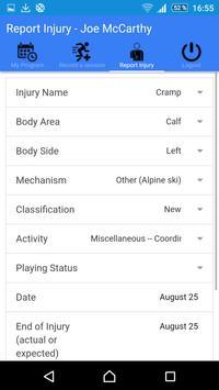 AthleteMonitoring Basic screenshot 4