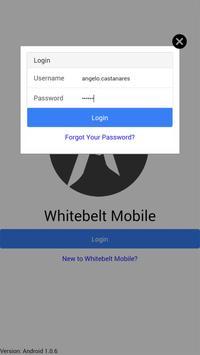 Whitebelt Mobile poster
