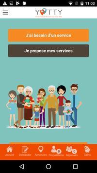 Yootty-AuxServices apk screenshot
