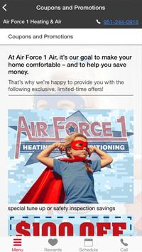Air Force 1 Air Heating and Air Conditioning apk screenshot