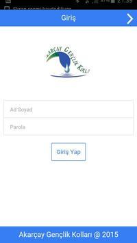Akarçay Sosyal Uygulaması poster