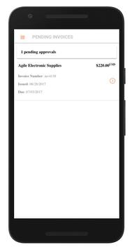 Smart AP Invoice Approval | Oracle EBS Mobile App screenshot 1