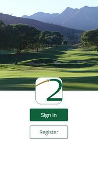 Green2Tee Golf Scorecard Plus poster