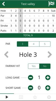 Green2Tee Golf Scorecard Plus apk screenshot