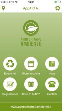 AppAgnoChiampoAmbiente apk screenshot