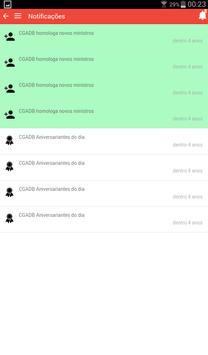 CGADB - Convenção Geral apk screenshot