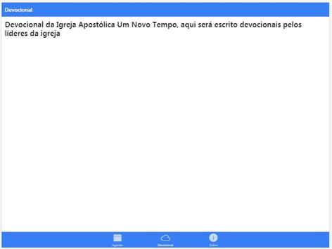 Igreja Apostólica UNT apk screenshot