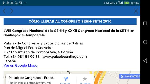 SEHH SETH - Compostela 2016 apk screenshot