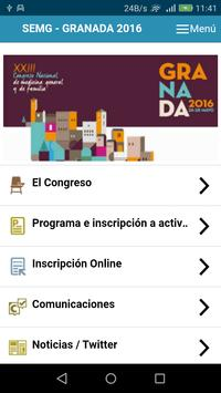 SEMG Congreso Granada 2016 apk screenshot