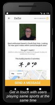 Buddy - stay fit, make friends apk screenshot