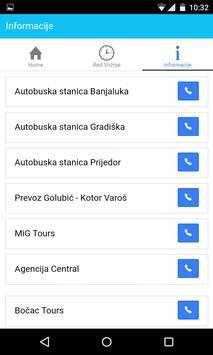 BusInfo BiH screenshot 2