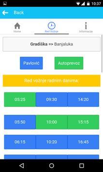BusInfo BiH screenshot 7