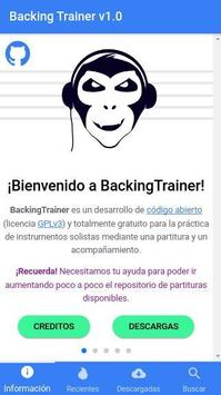 Backing Trainer poster